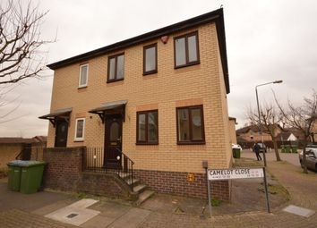 Thumbnail 3 bed semi-detached house to rent in Camelot Close, London