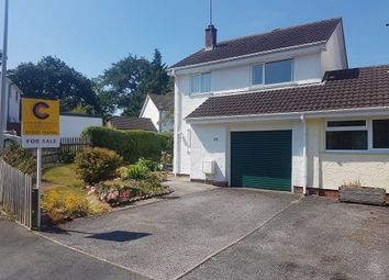 Thumbnail 3 bedroom link-detached house for sale in Dornafield Drive East, Ipplepen, Newton Abbot