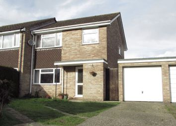 Thumbnail 3 bed semi-detached house for sale in Balfour Crescent, Newbury