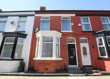 Thumbnail 3 bed terraced house to rent in Rosslyn Street, Aigburth, Liverpool