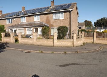 3 bed end terrace house for sale in Kingfisher Close, Lincoln LN6