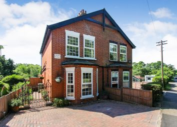 Thumbnail 3 bed semi-detached house for sale in Beccles Road, Fritton, Great Yarmouth