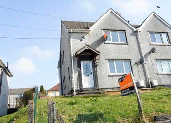 Thumbnail 3 bed semi-detached house for sale in Tonyrefail CF39, Tonyrefail,