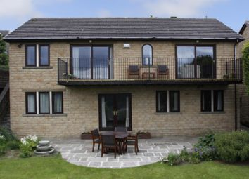 Thumbnail 4 bed detached house for sale in Oakwood Drive, Bingley