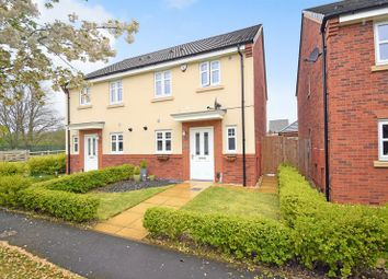 Thumbnail 3 bed semi-detached house for sale in Yew Tree Meadow, Hadley, Telford