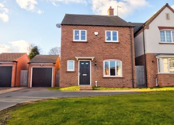 Thumbnail 4 bed detached house for sale in Monterey Court, Leicester