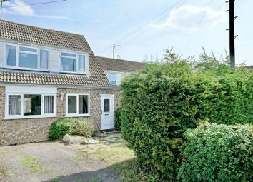 Thumbnail 3 bed semi-detached house for sale in Alwin Close, Sawtry, Huntingdon