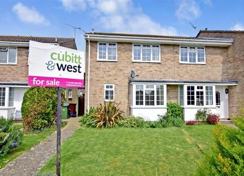 Thumbnail 3 bed end terrace house for sale in St. Georges Walk, Eastergate, West Sussex