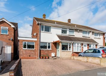 Thumbnail 3 bed semi-detached house for sale in Windmill Close, Warton, Tamworth