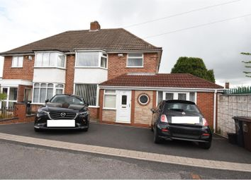 Thumbnail 3 bed semi-detached house for sale in Southfield Avenue, Castle Bromwich, Birmingham