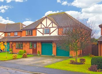 Thumbnail 4 bed detached house for sale in Chads Green, Wybunbury, Nantwich