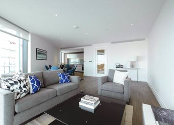 Thumbnail 2 bed flat to rent in 2 Riverlight Quay, London