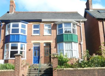 Thumbnail 3 bed semi-detached house for sale in Monkton Road, Honiton, Devon