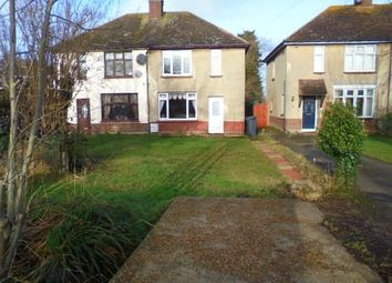 Thumbnail 2 bed semi-detached house to rent in Wood Lane, Cotton End, Bedford