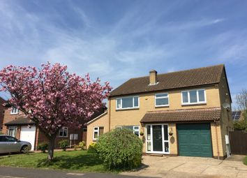 Thumbnail 4 bed detached house for sale in Manchester Way, Grantham