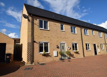 Thumbnail 3 bed terraced house for sale in Mander Farm Road, Silsoe, Bedford
