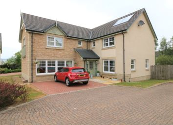 Thumbnail 5 bed detached house for sale in Sheriffmuir Close, Greenloaning Dunblane