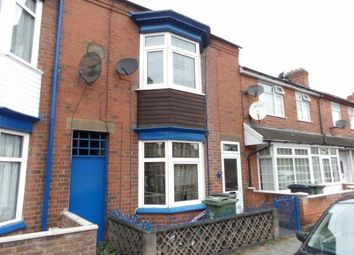 Thumbnail 3 bed terraced house for sale in Wharncliffe Road, Loughborough, Leicestershire
