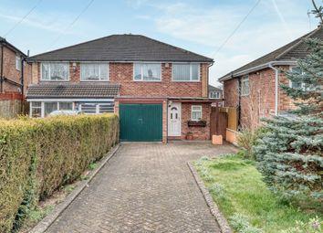 Thumbnail 3 bed semi-detached house to rent in Ridgewater Close, Leach Green Lane, Rednal, Birmingham