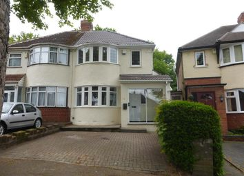 Thumbnail 3 bed property to rent in Marsham Road, Kings Heath, Birmingham