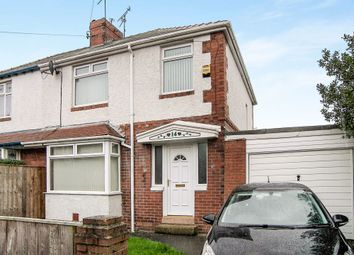 Thumbnail 3 bedroom semi-detached house for sale in Meadowfield Avenue, Newcastle Upon Tyne