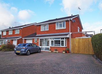 Thumbnail 4 bed detached house for sale in Keele Close, Redditch