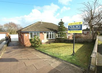 Thumbnail 2 bed semi-detached bungalow for sale in James Way, Knypersley, Stoke-On-Trent