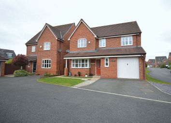 Thumbnail 4 bed detached house for sale in Portrush Close, Widnes