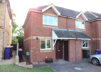 Thumbnail 2 bedroom end terrace house for sale in Rose Walk, Royston