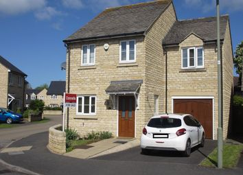Thumbnail 3 bed detached house for sale in Sherwood Close, Launton, Bicester