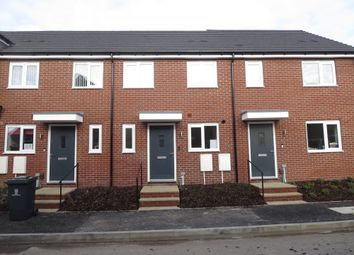 Thumbnail 2 bed terraced house for sale in The Alban, Victoria Park, Stoke