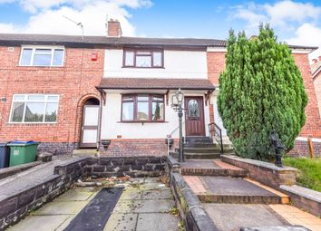 Thumbnail 3 bed terraced house for sale in Charlemont Road, West Bromwich