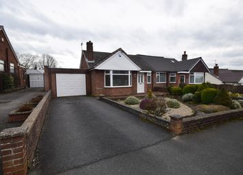 Thumbnail 2 bed semi-detached bungalow to rent in Portland Drive, Forsbrook, Stoke-On-Trent
