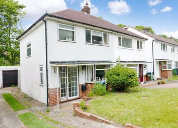 Thumbnail 3 bed semi-detached house for sale in Winterbourne Close, Lewes, East Sussex