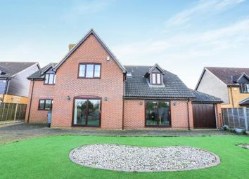 Thumbnail 5 bed detached house for sale in Whiteman Close, Langford, Biggleswade, Bedfordshire