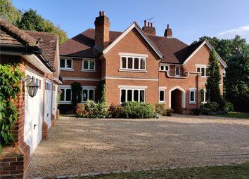 Woodlands Road East, Virginia Water, Surrey GU25. 5 bed detached house