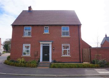Thumbnail 3 bed detached house for sale in Crowson Drive, Quorn