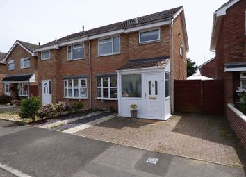 Thumbnail 3 bed semi-detached house for sale in Chantry Drive, Worle, Weston Super Mare