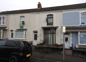 Thumbnail 4 bedroom terraced house for sale in Marlborough Road, Brynmill, Swansea