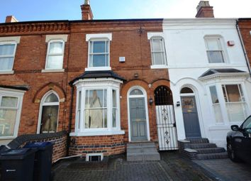 Thumbnail 3 bed terraced house to rent in Greenfield Road, Harborne, Birmingham