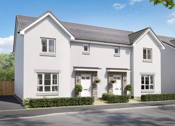 """Thumbnail 3 bedroom semi-detached house for sale in """"Craigend"""" at Charolais Lane, Huntingtower, Perth"""