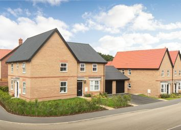 "Thumbnail 3 bedroom semi-detached house for sale in ""Archford"" at Caistor Lane, Poringland, Norwich"