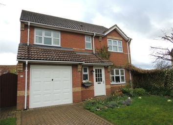 Thumbnail 4 bed detached house for sale in West End, Hilgay, Downham Market