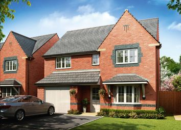 """Thumbnail 4 bed detached house for sale in """"Heathfield"""" at Church Road, Webheath, Redditch"""