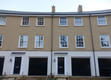 Thumbnail 4 bedroom town house to rent in Crecy Mews, Thetford