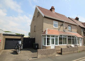 Thumbnail 3 bed semi-detached house for sale in 21 Holyoake Terrace, Off Watery Lane, Ulverston, Cumbria