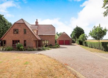 Thumbnail 4 bed detached house for sale in Glassmoor Bank, Whittlesey, Peterborough