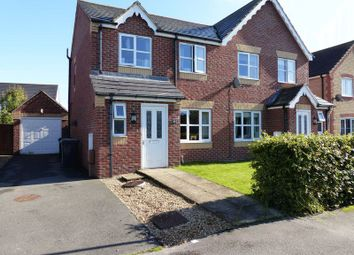 Thumbnail 3 bed semi-detached house for sale in Woodbridge Way, Woodhall Spa