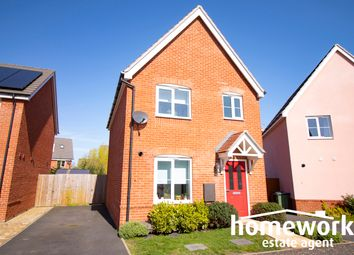 Thumbnail 3 bed detached house for sale in Field Maple Drive, Dereham