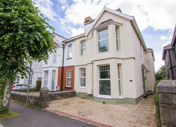 Thumbnail 4 bedroom semi-detached house for sale in Eaton Crescent, Swansea